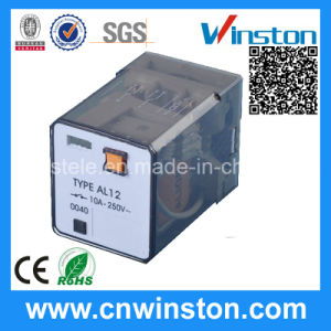 Al12 Digital Protection Industrial Delay Electromagnetic Relay with CE pictures & photos