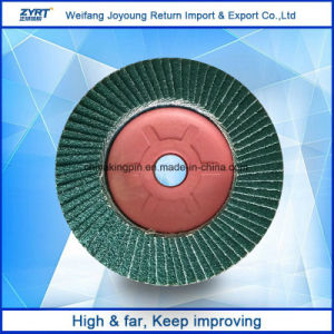 Nylon Backing Flap Disk for Stainless Steel pictures & photos