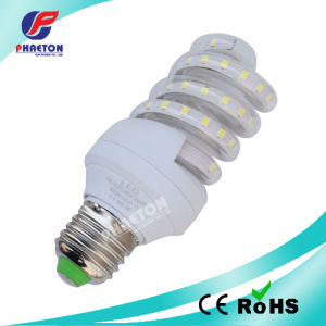 LED Energy Saving Bulb Spiral Type E27 7W White (pH6-3016) pictures & photos