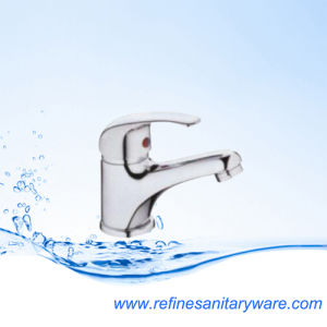 Hot and Cold Water Bathroom Basin Faucet Mixer Tap (R1101112CY)