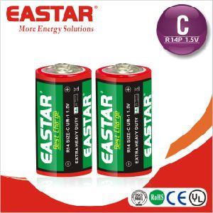 Super High Quality C Size R14 Um-2 Carbon Zinc Battery pictures & photos