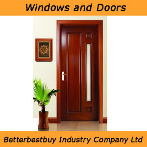 Simple Design PVC Door with Glass pictures & photos