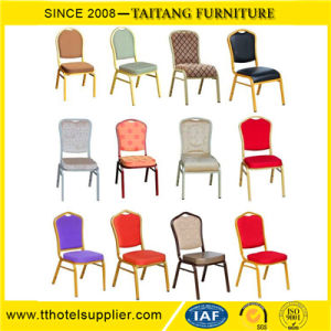 High Quality Steel Hotel Hall Banquet Chairs pictures & photos