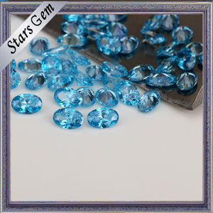 Fashion Aqua Blue CZ Stones for Woman pictures & photos