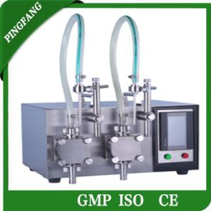 The Newest Gzd200 Tabletop Digital Filling Machines for Double Pump pictures & photos