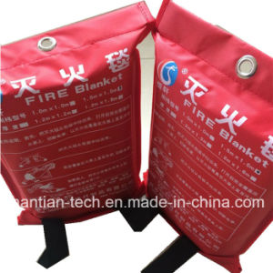 1.2*1.2m Fiberglass Fire Control Fire Blanket Fire Protective 500 Degress pictures & photos
