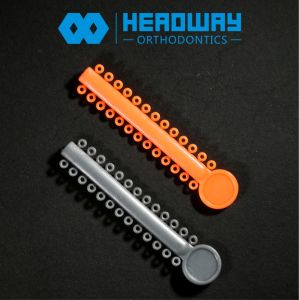 Orthodontic Elastic, Headway Orthodontic Ligature Tie 1040 Rings with 20 Colors pictures & photos