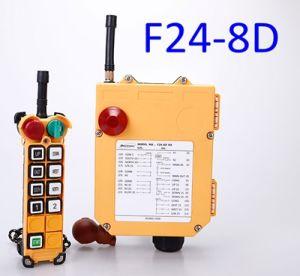 24V/12V Remote Control Switch with 2 Transmitter with 1 Receiver Telecrane Remote Control F24-8d-2tx for Sany Crane, XCMG Crane, Tadano Crane, Demag Crane pictures & photos