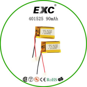 Exc401525 90mAh 3.7V Recharge Battery for GPS pictures & photos