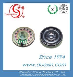 RoHS 36mm 8ohm 0.5W Waterproof Mylar Mini Speaker Dxi36n-B pictures & photos