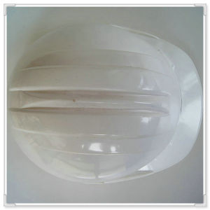 White ABS/PE/HDPE Safety Work Helmet with Ce/ANSI/En/ISO Certificate with Ratchet Adjustment and PE Lining pictures & photos