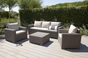 by-Wicker Furniture/Patio Garden Outdoor Sofa pictures & photos