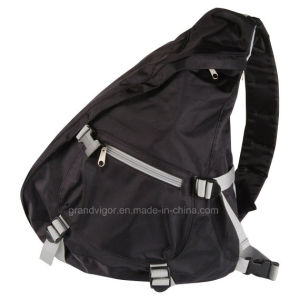 Polyester Sling Backpack with Contrast Webbing pictures & photos