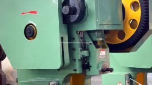 Deep Throat Mechanical Eccentric Power Press (punching machine) Jc21s-16ton pictures & photos