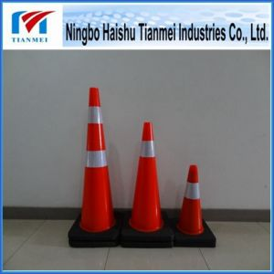 Four Sizes′ PVC Traffic Safety Cone, Road Cone pictures & photos