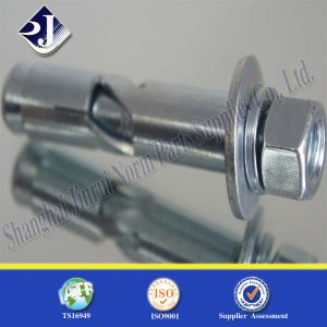 Grade4.8zinc Plated Fastener Anchor Foundation Bolt pictures & photos