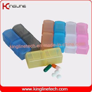 Latest Design Plastic 14-Cases Pill Box (KL-9142) pictures & photos