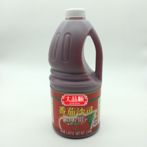3250g Canned Tomato Ketchup in Plastic Bottle pictures & photos