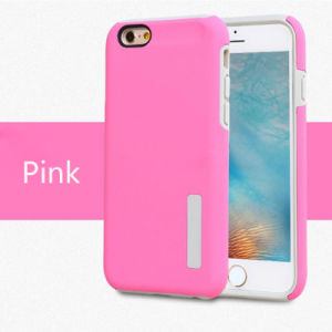TPU 2 in 1 TPU+PC Cell Phone Case for iPhone 7/iPhone 6/for Samsung S7 Edge Hard Protective Shell (XSEH-016) pictures & photos