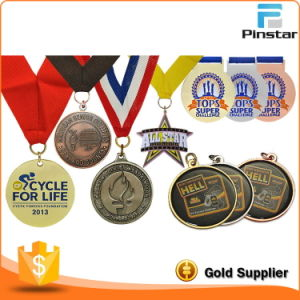 Pinstar Fancy Metal Crafts Customized Handmade Metal Medal Sports Medal pictures & photos