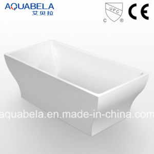 Ellipse Multi Function Acrylic White Bathtubs (JL603) pictures & photos
