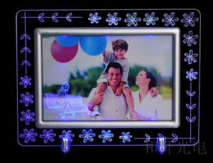 LED Acrylic Photo Frame Magnet Photo Frame pictures & photos