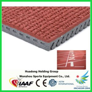 Pefabricated Rubber Athletic Running Tracks for All-Weather Sports Court Surfaces pictures & photos