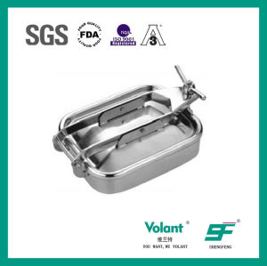 Sanitary Stainless Steel Pressure Manhole Sf9000301 pictures & photos