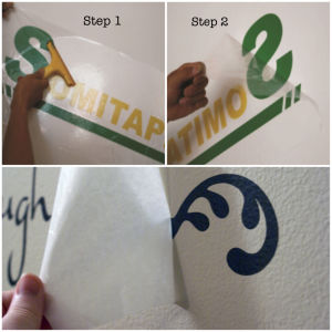 Somitape Sh363A High Tack Transfer Tape/Adhesive Transfer Tape/Application Tape for Adverting Sign pictures & photos