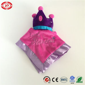 Baby Girl Dreaming Princess Crown New Design Pink Blanket pictures & photos