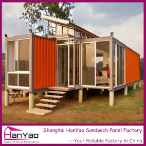 Prefabricated House Container House for Temporary House/Office pictures & photos
