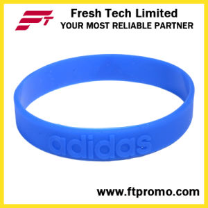 Professional Sports Silicone Wristband with Embossed Logo pictures & photos