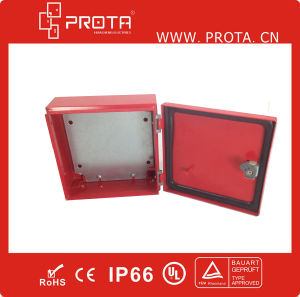 Small Metal Wall Mounting Distribution Box/Board IP65 pictures & photos