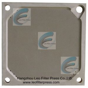 Leo Filter Press Double Side Recessed Chamber Filter Plate pictures & photos