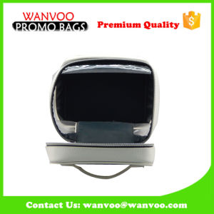 Waterproof PVC White Makeup Organier Bag with Clear Window pictures & photos