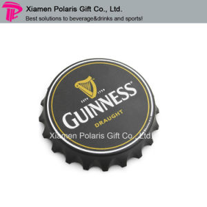 Large Size Bottle Cover Shape Plastic Beer Opener with Magnet pictures & photos