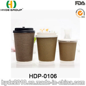 Ripple Wrap Wall Paper Cup for Coffee with Low Price pictures & photos