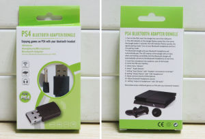 Data Transmission Game Use Accessory Wireless USB Bluetooth Dongle Headset Microphone Adapter for PS4 pictures & photos