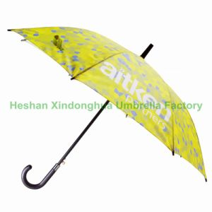 Automatic Promotional Fiberglass Straight Umbrella for Full Digital Printing (SU-1423BF) pictures & photos
