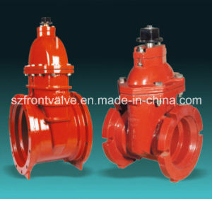 Awwa Ductile Iron Rising Stem Resilient Seated Gate Valve pictures & photos