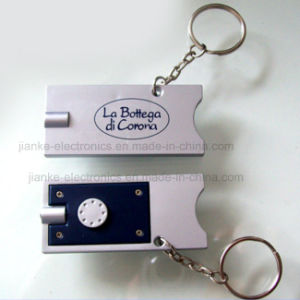 Promotion LED Flashing Keychain for with Logo Printed (4067) pictures & photos