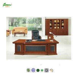 2015 Antique Furniture Wood Veneer Executive Desk pictures & photos
