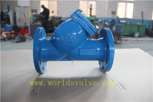 Carbon Steel Wcb Y Type Water Filter (GL41-10/16) pictures & photos