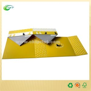 Recycling Paper Gift Box with Folding (CKT-CB-439)