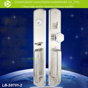 Luxury Stainless Steel Gate Door Lock (LB-S8701-2) pictures & photos