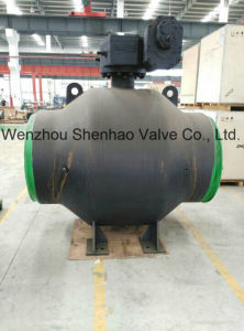 Gear Operated Bw Extended Stem Full Welding Ball Valve
