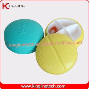Latest Design Plastic 4-Cases Pill Box (KL-9091) pictures & photos