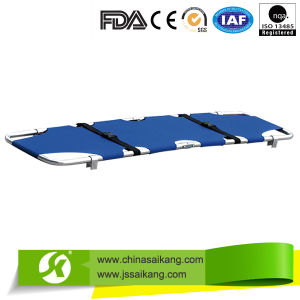 Light-Weighted Aluminum Alloy Medical Stretcher with Reliable Quality pictures & photos