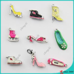 Mixed Styles Metal Enamel 3D Shoes Charm (SPE) pictures & photos