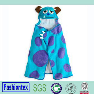 100% Cotton Toddler Hooded Towel Animal Bath Baby Cloth pictures & photos